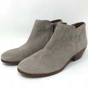 Sam Edelman Shoes - Sam Edelman Petty Ankle Boots Taupe Suede Sz 6.5